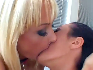 Kinky lesbos get into deep buttfuck frigging act