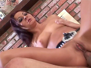 Her name is Sandra Romain and she wants the dick inwards her snatch