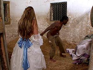 Cock-squeezing milky senorita and her amazing escapade with the dark dick