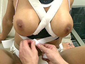 Stunner in kinky restrain bondage fucked like the fucky-fucky gimp she is