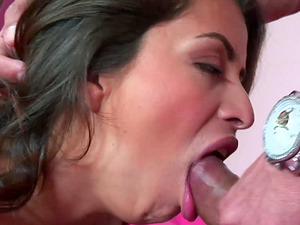 Producing man-juice is what Pepper Foxxx loves