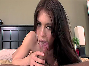 Charming Ally Kay gets her raw vulva ate and hammered