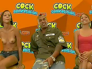 Latina cowgirls railing big black penis sequential in mmf porno
