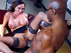 Looks like Ariella wants to have her beaver blacked hard and good