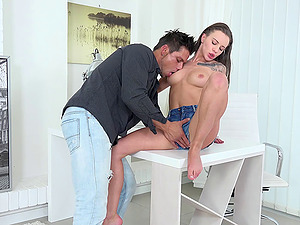 Is Lita's beautiful twat ready for the deep and hard drilling?