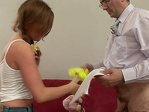 Sex-positive Teenager Gets Weird With Her Instructor.