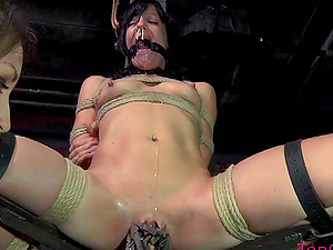 Sexy Elise Graves sobs in anguish during the most gonzo Sadism & masochism torment