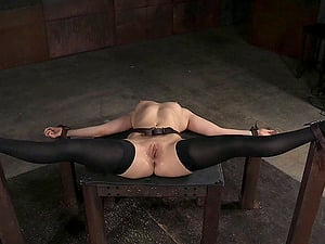 Trampy and adorable dark-haired Endza Adair gets her humid snatch rammed