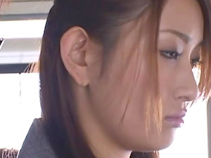 Horny Asian doll pounded hard-core in public group bang-out