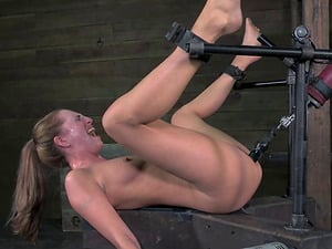 Elaborate vaginal penalty for the gorgeous Roxy Rox