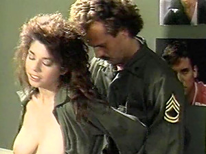 Hot bum military dame in uniform throbbed doggystyle in group hookup