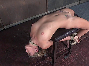 Nice blonde with perky tits gets raw during a Domination & submission session