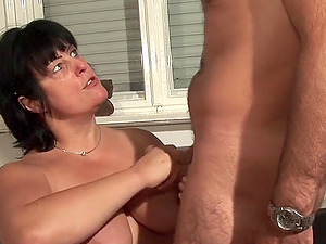 Hot brown-haired mature inexperienced got fucked by her spouse