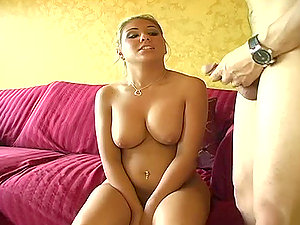 Mean Petite Lady Deep throats On A Prick.