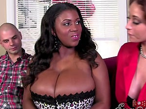 Eva Notty and Maserati XXX join up for a supreme threesome