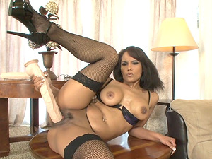 Anjanette Astoria is a stunning Mummy who loves massive faux-cocks