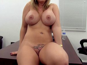 Jessica opens her mouth welcoming a big pulsating shaft