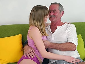 Mature paramour wants to have fun with Lucette Nice's taut vagina