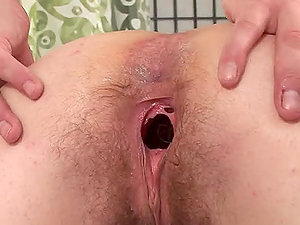 Dominika A gets her gross hairy vulva fucked by Steve Q