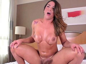Melyna Merlin is a honey with a dick who loves to be plowed hard