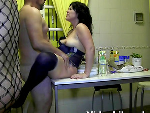 Curious Silvi joins a kinky sex session with her horny friends