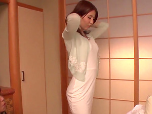 Aya Saito feels excited and aroused along two men