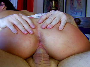 Small tits Ris Dar shaved pussy compactly throbbed roughly