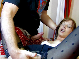 Iris is a mature woman who cannot resist bouncing on a cock