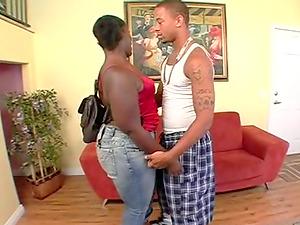 Vivacious J. Strokes making Thick Sexxi scream from pleasure