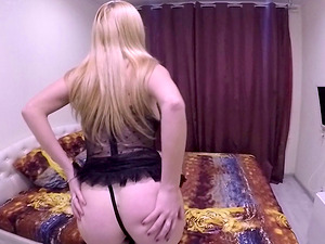 Isabella Clark dolls up for a hardcore sex session with her man