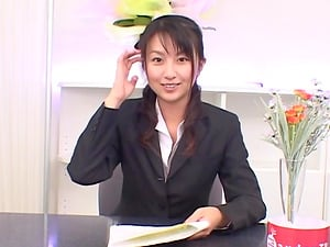 Rei Itoh is a hot business woman in need of a stiff boner