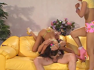 Kinky babes Layla Rivera and Catalina get nasty during a threesome