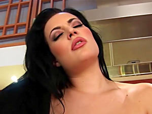 Carmen Croft Dildos Her Juicy Wet Pussy