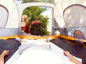 ANYA OLSEN ROCKING THE TENT AND GETTING FUCKED