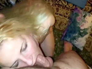 Blonde Pov Cock Swallowing Raw And Deep