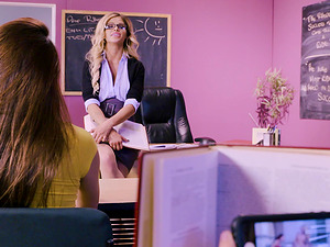Jessa Rhodes is that kind of teachers who fucks with their students