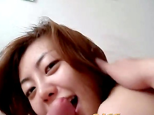 Horny Korean wife does anal
