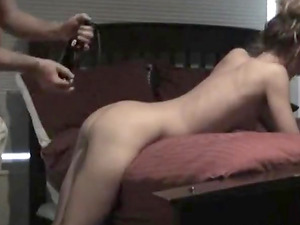 Sexy wife fucked hard on bed
