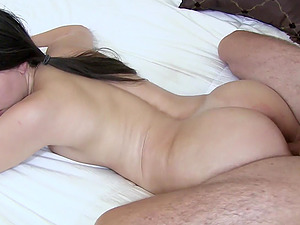 Hot ass Alexis wet pussy ravished till filled with cum