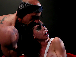 Brandy Aniston is a sex slave who craves to be fucked hard