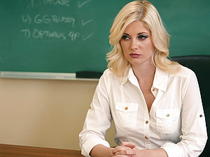 Charlotte Stokely and Chanel Preston are horny teachers craving sex