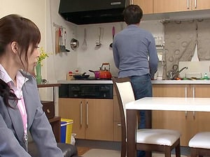 Aya Sakurai is a office worker attacked by a horny stud