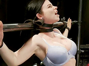 Subjugated Sweetheart Gets a Rough Treatment in the Dungeon space