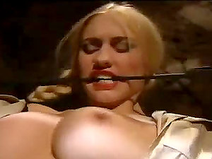 Horny blonde damsel gets fucked by an inmate in jail