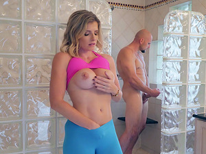 Cory Chase seduces a hot fellow for a formidable sex session