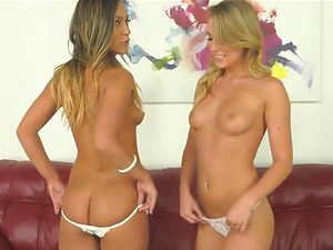 This Hot Naked Girls are The Most Sexy Tanned T