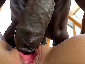 Ebony Big dick videor anal sex blondin