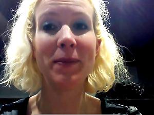 Grace Thomas instructs on self Brazilian waxing