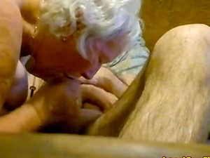 Granny fucked and sucked