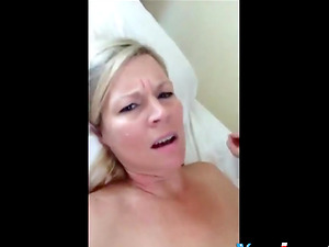 Horny Milf Knows How To Drain Cock